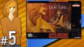 The Lion King (SNES) - Too Hard | PART 5 | ScykohPlays