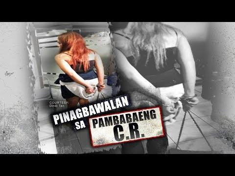Transgender woman na pinagbawalang gumamit ng CR ng babae, dinala sa presinto at pinosasan | 24 Oras