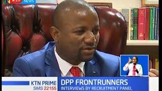 Selection panel for the recruitment of the DPP will interview 10 persons shortlisted