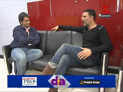 DNA: Zee Media Exclusive chat with Akshay Kumar