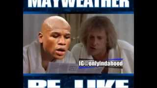 50 Cent Challeange Floyd Mayweather To A Reading Test