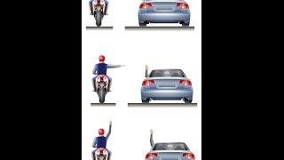 Смотреть онлайн Особенности сигналов авто при повороте
