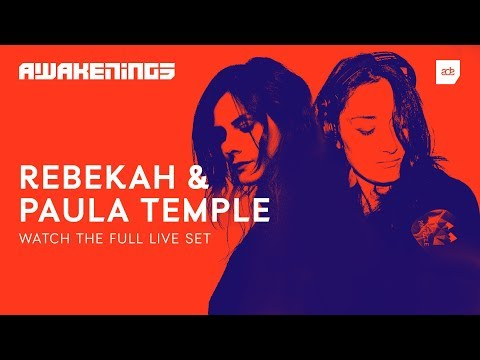 Awakenings ADE 2018 | Rebekah & Paula Temple