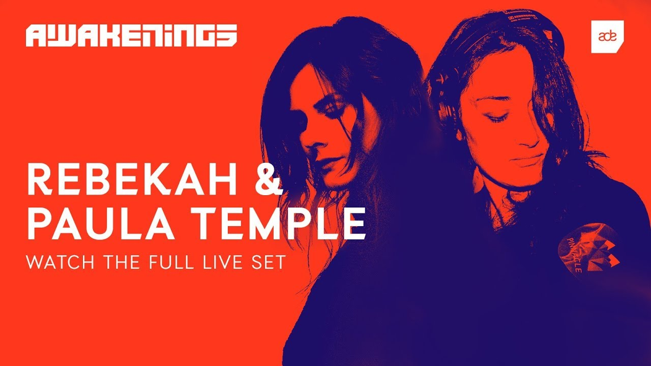 Paula Temple b2b Rebekah - Live @ Awakenings ADE Hard Opening Night 2018