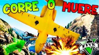 CORRE O MUERE!! KAMIKAZE!! XD SUPERVIVENCIA EXTREMA EN GTA 5 ONLINE Makiman