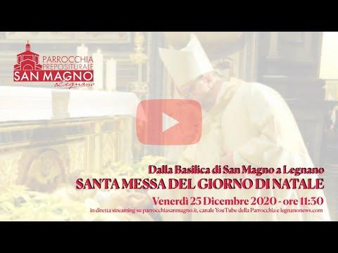 Natale 2020, la messa in diretta dalla Basilica di Legnano