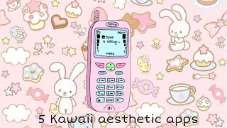 5 Kawaii Aesthetic Fun Apps You Need