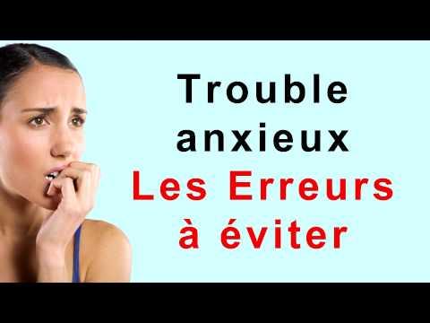 comment traiter trouble anxieux généralisé