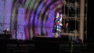 Наташа Королева спела для новокузнечан