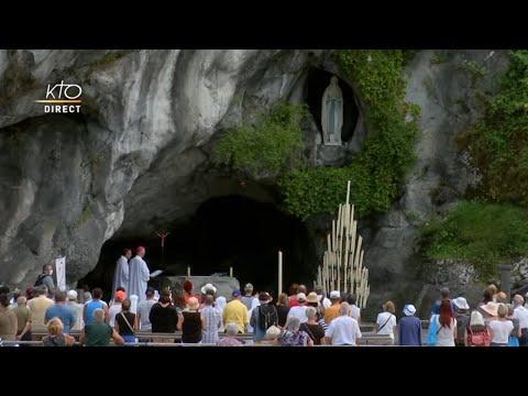 Chapelet du 22 juillet 2020 à Lourdes