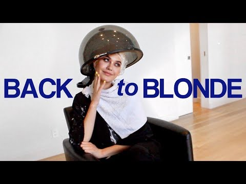 GOING BLONDE EXPERIENCE