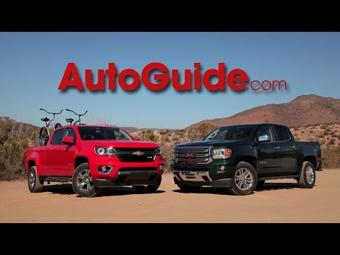 2015 Chevrolet Colorado Review - First Drive