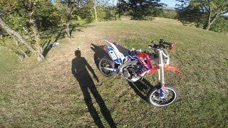 Moto Test : 450 Crf Sm ( Supermotard ) (moto Perso)