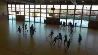 preview picture of video 'SG Erlangen/ Fürth Titans @ Nürnberg Rams 07.02.2015'
