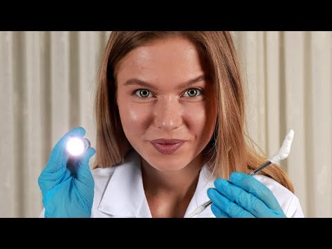 [ASMR] Doctor Lizi Cleans Your Ear and Tests Your Hearing.  Medical RP, Personal Attention