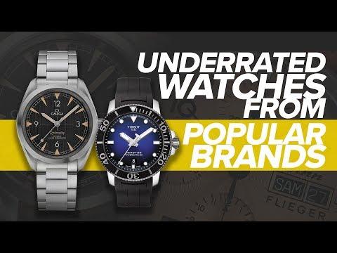 Underrated Watches From Popular Brands Part 2 (Tissot, Omega, Sinn, Zenith & More)