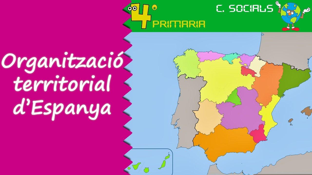 Ciències Socials. 4t Primària. Tema 5. L'organizació territorial d'Espanya