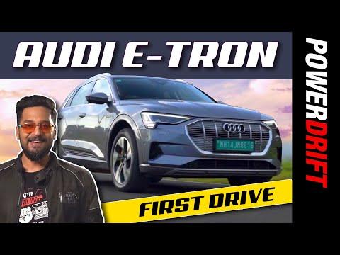 Audi e-tron | First Drive Review | PowerDrift
