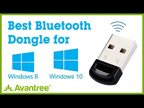 The Best Bluetooth Dongle for PC – Plug & Play on Most Windows 8,10 – Avantree DG40S Video Guide 1
