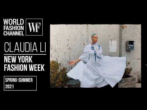 Claudia Li spring-summer 2021 | New York Fashion Week