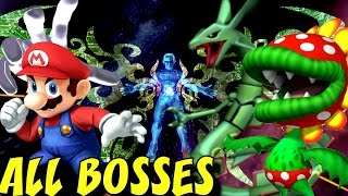 Super Smash Bros. Brawl - All Bosses (No Damage) + Cutscenes