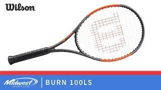 Ρακέτα τέννις Wilson Burn 100LS video