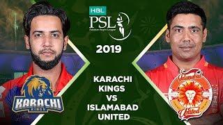 Match 32: Eliminator 1 Full Match Highlights Karachi Kings Vs Islamabad United   HBL PSL 2019