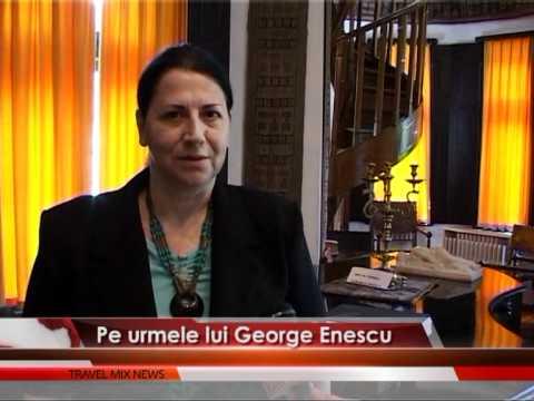 Pe urmele lui George Enescu la Sinaia – VIDEO
