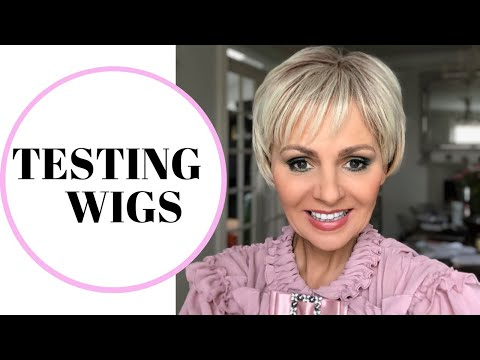 58988506a74 TESTING WIGS  WIGS REVIEW TRYING ON WIGS WIGS HAUL AFFORDABLE £10.00 WIGS   DRESSLILY MAY2019 - NiftyAfterFifty
