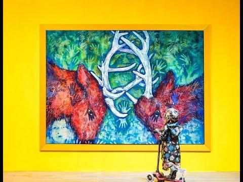 【臺南美學任意門】蕭壠國際藝術村─動物童樂園紐約COPE NYC聯展《野性之美》