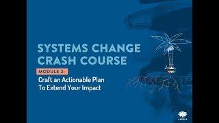 2.1 Elaborar un plan de acción para amplificar su impacto