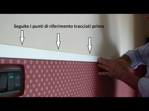 Come posare la carta da parati- How to place the wallpaper