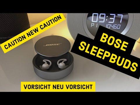 Bose Sleepbuds Noise-Masking | Hilft er wirklich beim Schlafen? | Deutsch