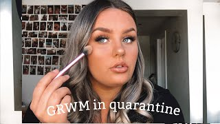 Get ready with me for nothing *quarantine makeup routine*