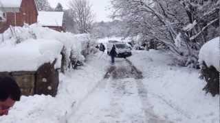 Winter Attack in Flintshire North Wales