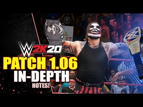 Download WWE 2K20 PATCH 1.06 In-Depth: CAC ADDED! Universe & Creations FIXES, Alt Attires, Full Notes & More! Mp4 HD Video and MP3
