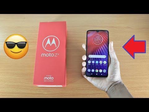 Video over Motorola Moto Z4