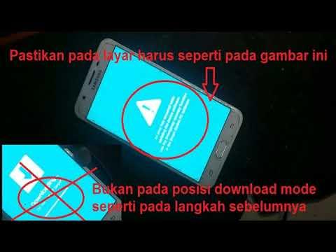 Samsung J720f Download Mode