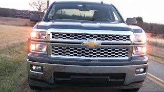 2014 Chevy Silverado Pickup Truck Test Drive Video Review - 1500 1LT V-6 4x2 Double Cab