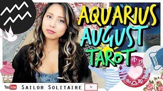 AQUARIUS - AUGUST TAROT - UP UP AND AWAY