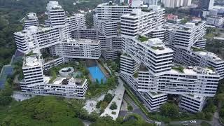 The Interlace…Singapura/Cingapura...incentivar um senso de comunidade e interação multi-geracional.