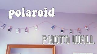 Polaroid Photo Wall //