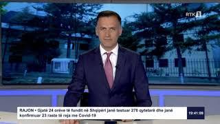 Lajmet qendrore 19:30 29.05.2020