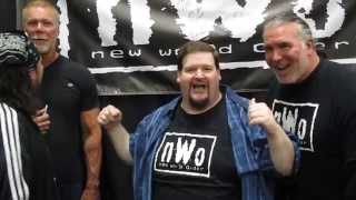 NWO – Kevin Nash, Scott Hall, Sean Waltman, Eric Bischoff – Fan Wrestling Promo