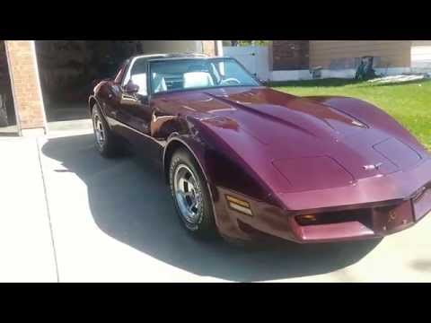1981 chevrolet corvette for sale cc 945034. Black Bedroom Furniture Sets. Home Design Ideas