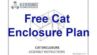 PVC Cat Enclosure PVC Plan