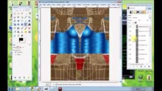 Download IMVU Developing - Texture & Opacity for Dress using GIMP