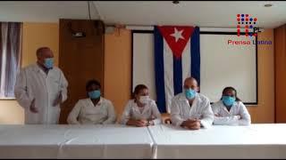 Enfermería cubana ayuda a #Andorra contra covid-19
