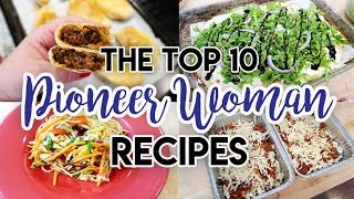I MADE THE PIONEER WOMAN'S TOP 10 RECIPES! 🤩 EPIC COOK WITH ME 🍝