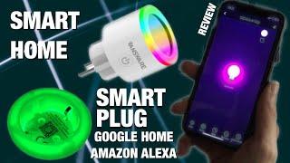 Smart Home Steckdosen mit Nachtlicht, AMAZON Alexa, Google Home, IFTTT Integration - Test REVIEW